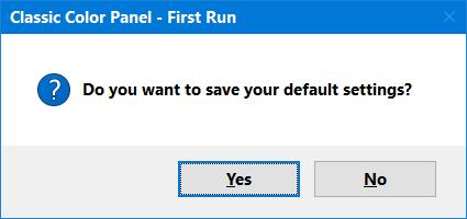 Classic Color Panel Pour modifier toutes les couleurs présentes dans l'interface de votre système d'exploitation, textes compris [Freeware] 2