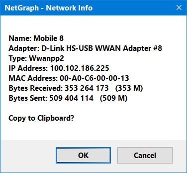 netgraph network info one